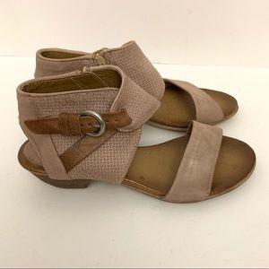 Mix Mooz Cheerful leather buckle sandal tan 37
